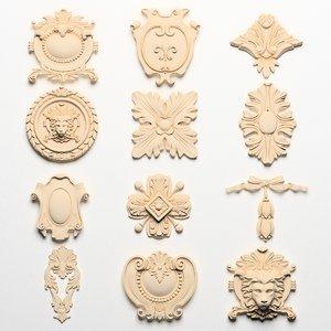 classical ornamental 3d model