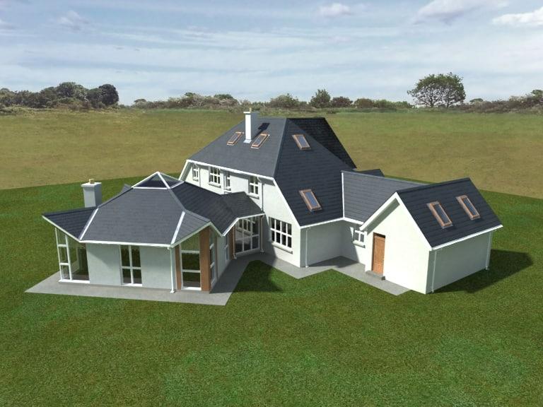 3ds detached house