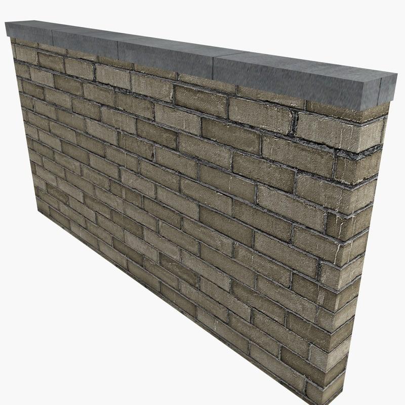 3d walls brick stone