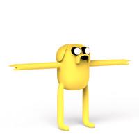 3d model jake dog