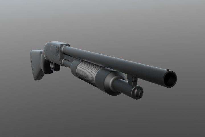 3ds mossberg 500 shotgun