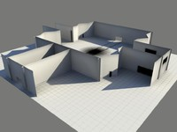 - laboratory area 3d obj
