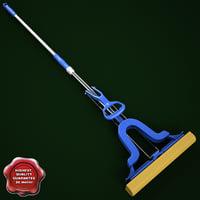 3d sponge mop v2