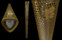 3d london 2012 olympic torch model