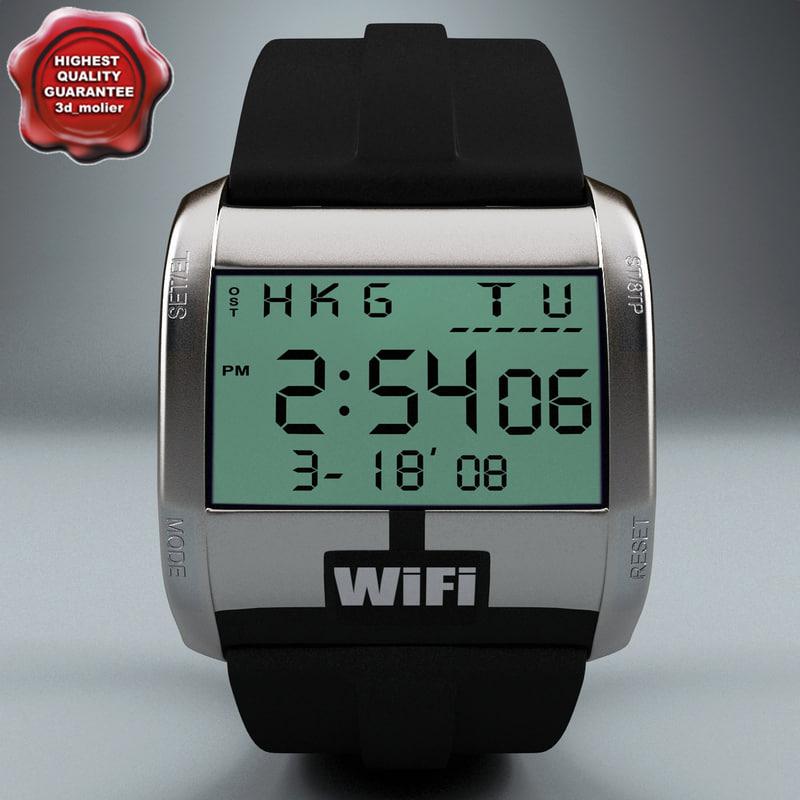 wifi watch c4d
