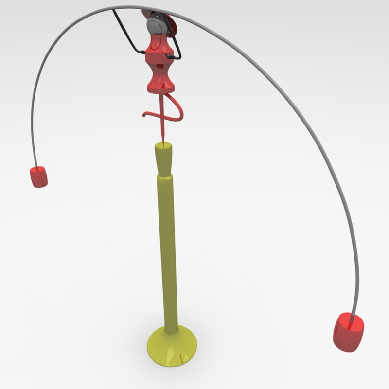 3d model balance decorative