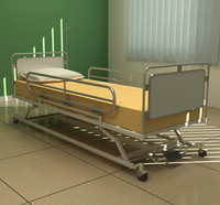 Hospital bed 03