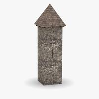 maya medieval tower