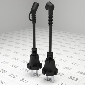 plug electric obj