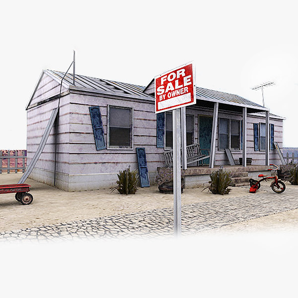 abandoned town house baby 3d 3ds