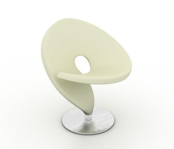 3d design question mark chair model