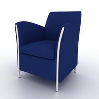3d tub chair model