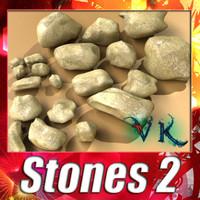 stones 02 resolution 1 3d max