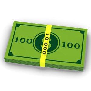 3ds max cartoon money