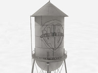 Warner Bros Studio Water Tower
