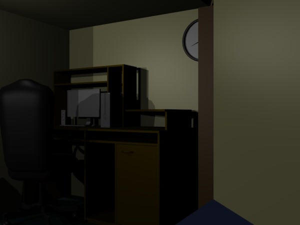 office room zachloarstutorials obj free