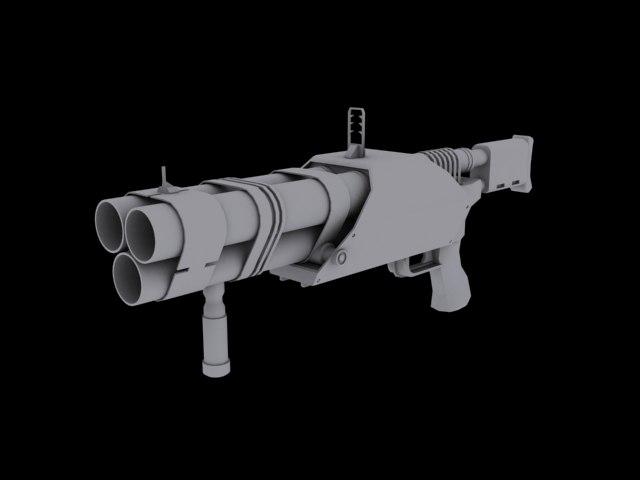 max barreled grenade launcher