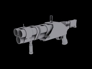 max barreled grenade launcher