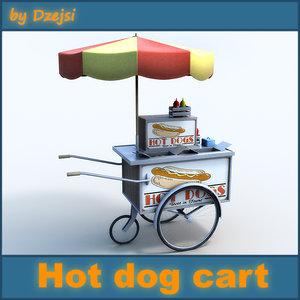 hot dog cart max