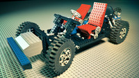 Technic Chassis 8860