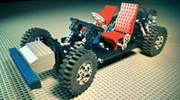 lego bricks 3d max
