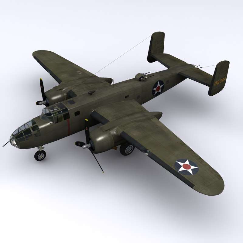 maya north american b-25 mitchell