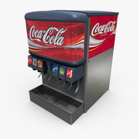 soda fountain retail 3ds