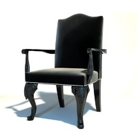 Ralph Lauren - CLIVEDON CARVED CHAIR