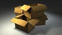 maya cardboard boxes