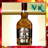 max photorealistic liquor bottle chivas