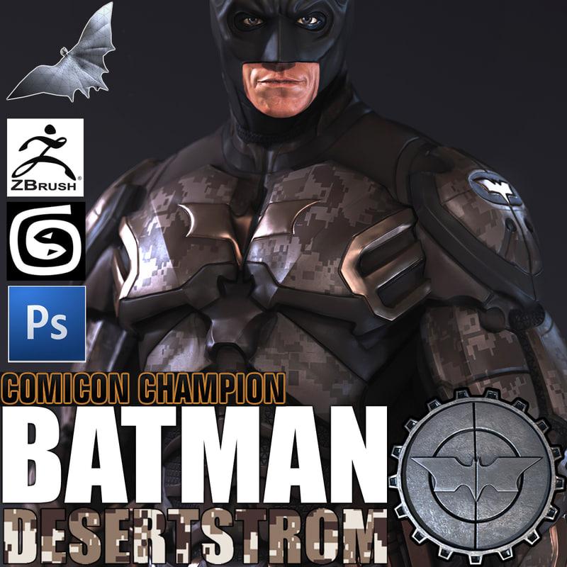 3d man batman bat