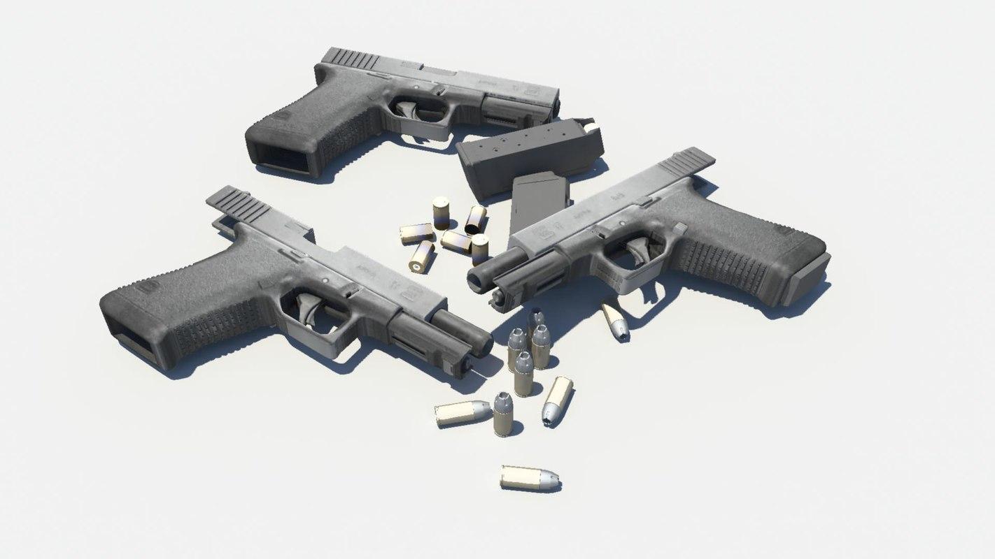 3d glock 17