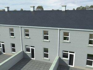 3d model terraced houses