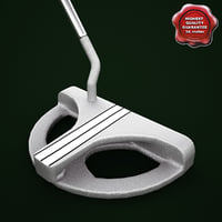 3d model odyssey white steel 2