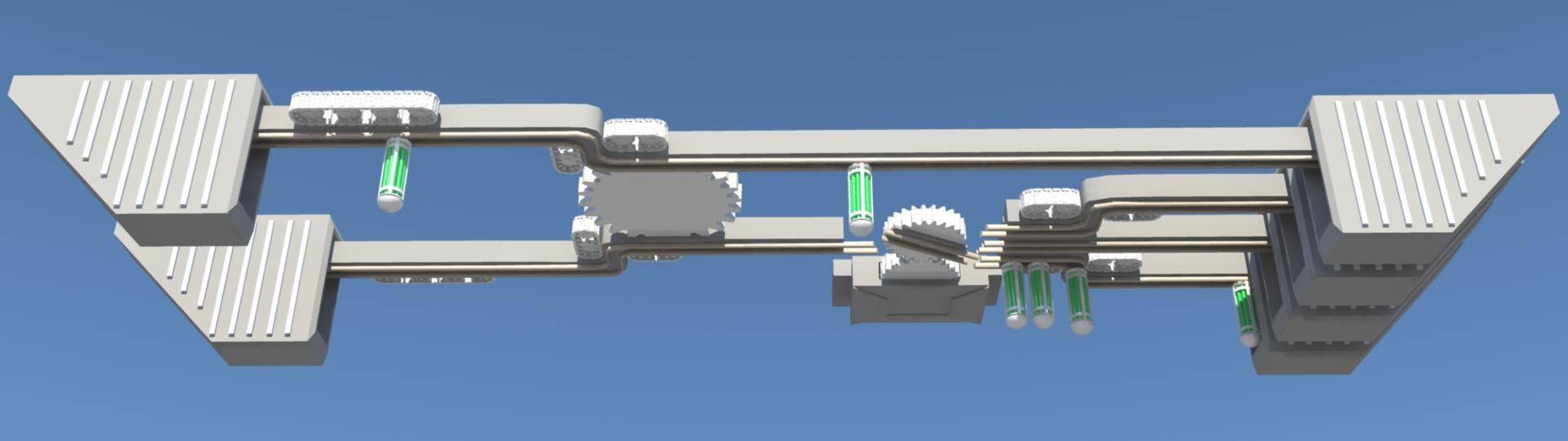 - rail machine obj