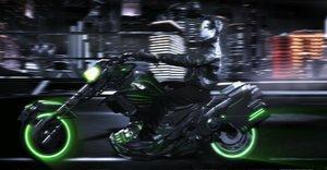 motorcycle bike 3d model