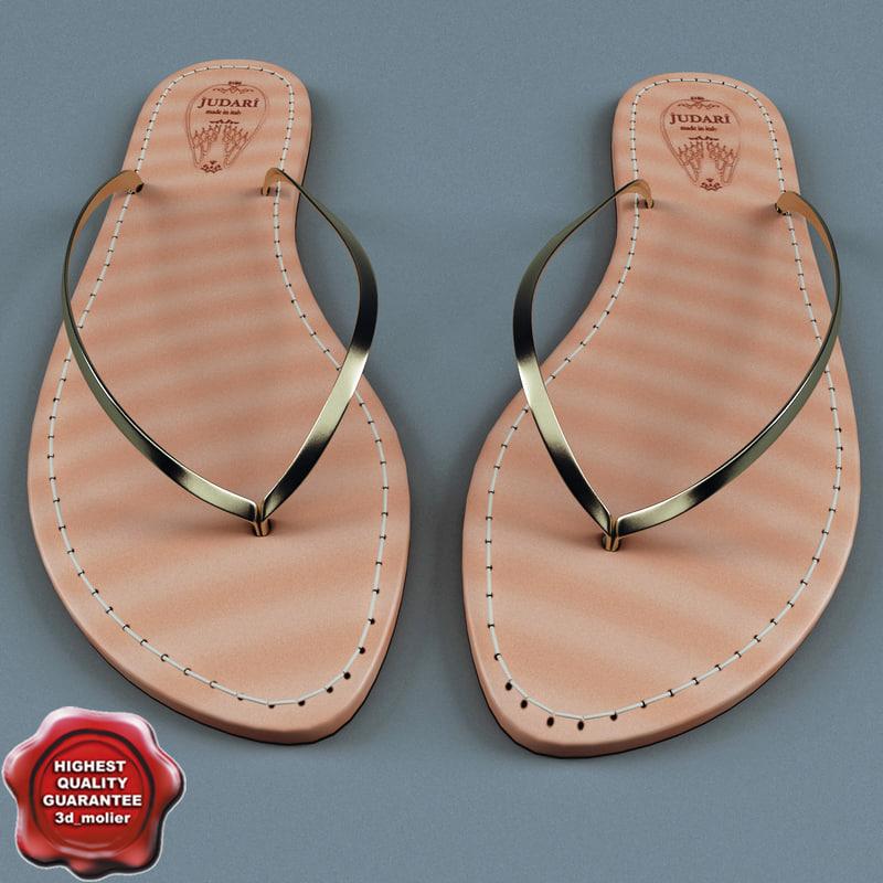 summer shoes judari 3ds