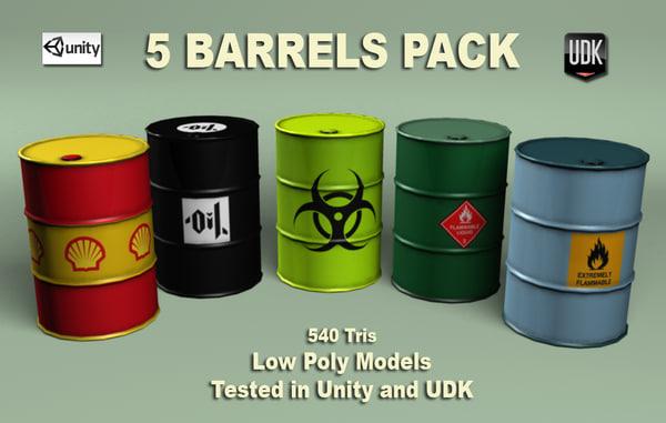 free max mode barrels games pack -