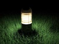 3dsmax external lighting bollard