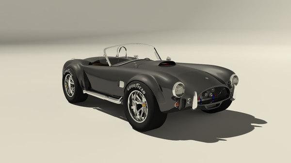 3d model cobra modeled