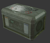 3d crate normal