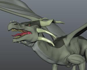 maya english dragon wings