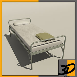 army bed 1 3d model