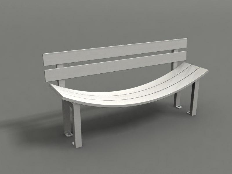park strange benches