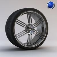 c4d tyre