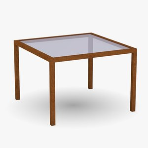 3ds max restaurant table