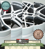 G69-ALLOY CAR RIMS COLLECTION #1