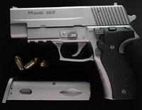 sig-sauer p226 gun 3d max