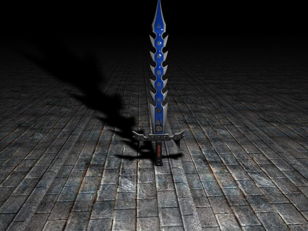 japanese sword c4d