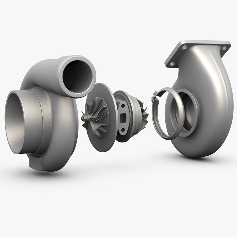 3d turbocharger turbos